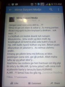 status FB Mirna